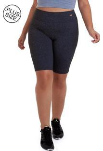 Bermuda Best Fit Plus Size Supplex Chumbo