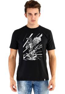 Camiseta Ouroboros Zebra Preto