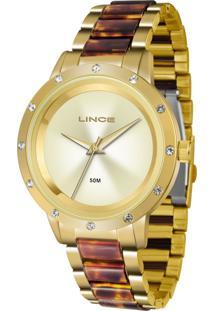 Relógio Lince Dourado - Lrt4476L C1Nk