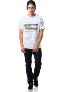 Camiseta Asphalt Duster - Masculino-Branco