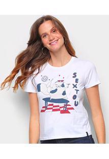 Camiseta T-Shirt Cantão Babylook Sextou Feminina - Feminino