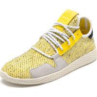 94995b0f72417 Tênis Adidas Originals Afro Tennis Hu V2 Amarelo