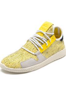 Tênis Adidas Originals Afro Tennis Hu V2 Amarelo
