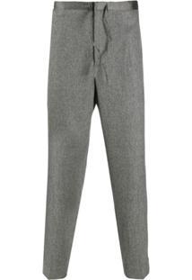 Jil Sander Drawstring Trousers - Cinza