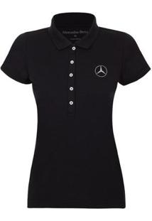 Camisa Polo Silver Star Mercedes-Benz Tr Feminina - Feminino