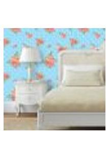 Papel De Parede Autocolante Rolo 0,58 X 5M Floral 131105234