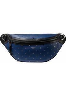 Jimmy Choo Pochete York Com Aplicação De Estrelas - Azul
