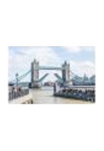Painel Adesivo De Parede - Londres - Tower Bridge - 808Pnm