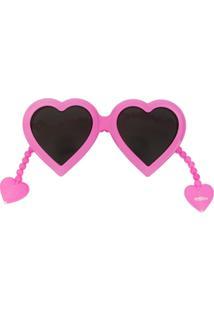 Linda Farrow Óculos De Sol De Coração - Rosa