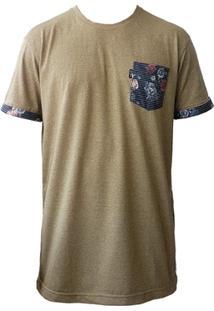 Camiseta Mcd Especial Flower Fish Bege - Masculino