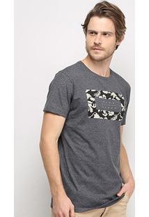 Camiseta Hang Loose Koolau Masculina - Masculino-Mescla Escuro