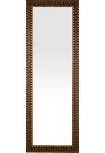 Espelho De Parede Retangular Esmeralda 105 Ectx 153X53Cm Dourado