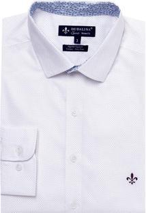 Camisa Dudalina Tricoline Estampada Masculina (Estampado 2, 6)