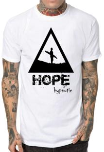 Camiseta Hypnotic Hope To Surf Branco