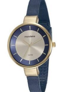 Relógio Mondaine 76597Lpmvle2 Feminino - Feminino-Azul