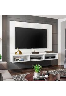 "Painel Home Suspenso Para Tv Atã© 55"" Quartzo Branco - Mã³Veis Leã£O - Multicolorido - Dafiti"