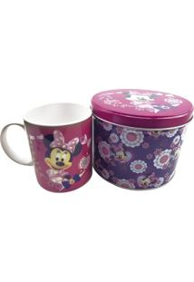 Caneca Minas De Presentes Minnie Rosa