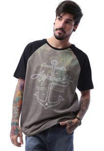 Camiseta Asphalt High Anchor Masculina - Masculino