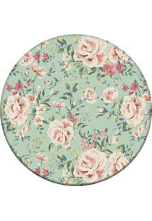 Tapete Love Decor Redondo Wevans Flowers Green 94Cm