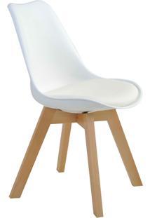Cadeira Leda Branca Rivatti Móveis