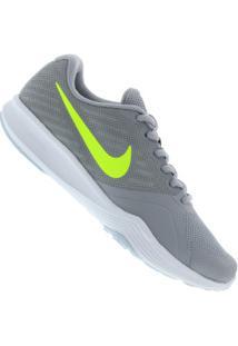 Centauro. Calçado Tênis Centauro Nike Feminino Verde Cinza Trainer City ... 3c8e70d844f48