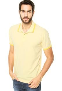 Camisa Polo Iódice Denim Flamê Amarela