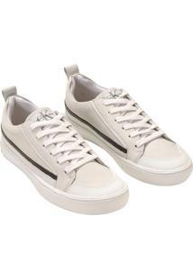 Tenis Ckj Fem Cano Baixo Skate Sneaker - Branco 2 - 37