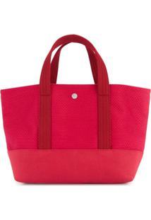Cabas Bolsa Tote Pequena - Vermelho