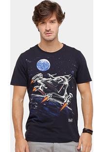 Camiseta Colcci Space Masculina - Masculino