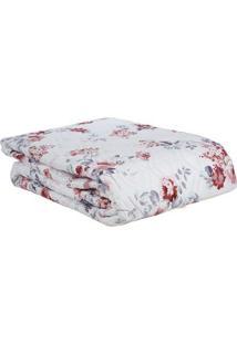 Kit De Colcha Casal Com Porta Travesseiro Altenburg Branco
