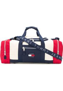 Tommy Jeans Colour-Block Logo Holdall - Azul