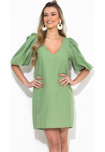 Vestido Curto Verde
