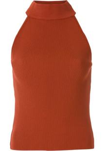 Egrey Blusa American Canelada - Vermelho