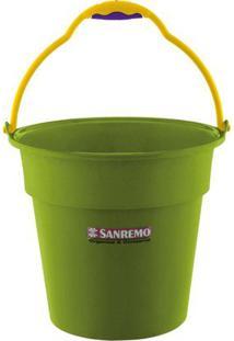 Balde 8 Litros Verde Sanremo