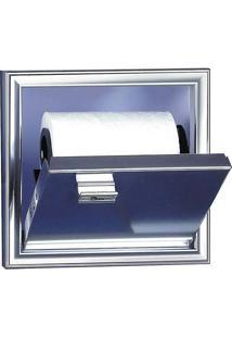 Porta Papel De Embutir - 18X13X17Cm - Cris Metal