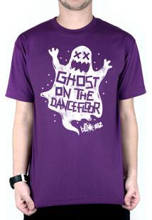 Camiseta 182Life Ghost On The Dancefloor Roxo