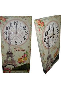 Relogio De Parede Vintage Retro Para Decoracao Paris (Xin-04)