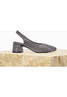 Scarpin Isabella Tweed Mescla | Owme