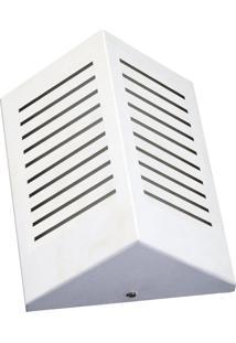 Arandela Triangular Com Rasgo Vertical 6133 12X09X23 1 Lâmpada Branca Pantoja&Carmona