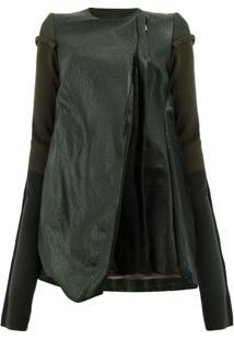 Rick Owens Jaqueta Oversized - Green