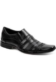 Sapato Social Side Gore Sandro Moscoloni Owen Masculino - Masculino-Preto
