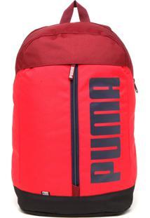 301d640d2 ... Mochila Puma Pioneer Backpack Ii Vermelha