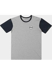 Camiseta Plus Size Quiksilver Snaken Masculina - Masculino