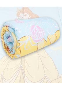 Edredom Infantil Disney Princess Bela Azul