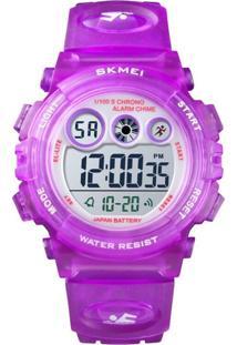 Relógio Skmei Digital 1451 Roxo