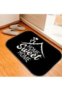 Tapete Decorativo Home Sweet Home Minimalista Único