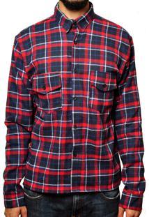 Camisa Andy Roll Clothing Flanela Classic Goo Vermelha