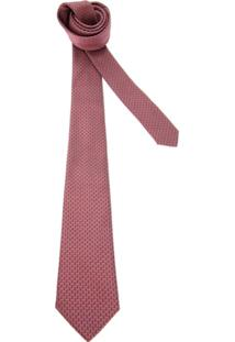 Lanvin Gravata Vermelha. - Vermelho