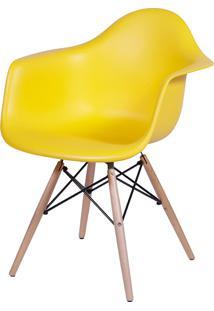 Poltrona Eames Dar C/ Braço Or-1120 – Or Design - Amarelo