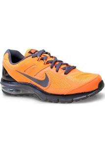 Tenis Masc Nike 599343-801 Air Max Defy Rn Laranja Neon